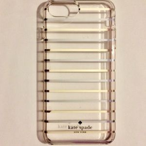 kate spade gold & silver cover iPhone 6+, 7+, 8+